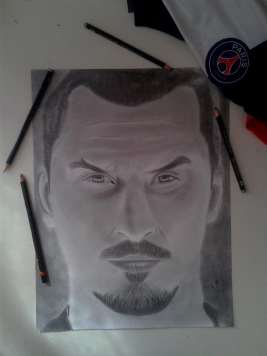 Zlatan Ibrahimovic by flavien.c